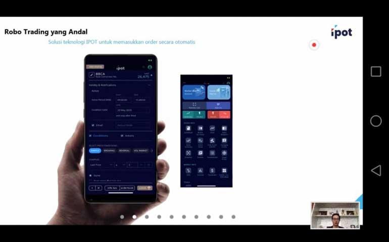 Pt Indo Premier Sekuritas Luncurkan Aplikasi Ipot